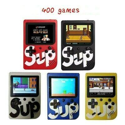 Console Videogioco Portatile 400 Giochi 8 Bit Tv Sup 400 Box Retro Vari Colori 3
