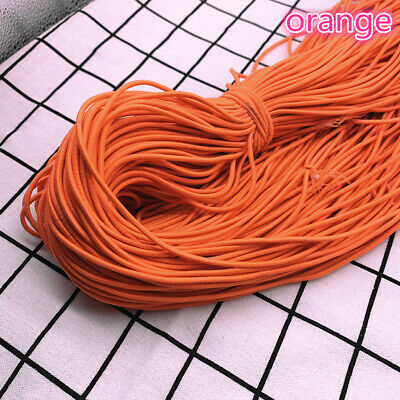 5yds 2/2.5mm High Elastic Round Elastic Band Rubber Band Elastic Cord Diy Sewing 6