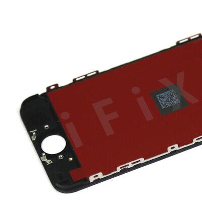 ECRAN LCD iPhone SE 5 s VITRE TACTILE NOIR BLANC SUR CHÂSSIS 6