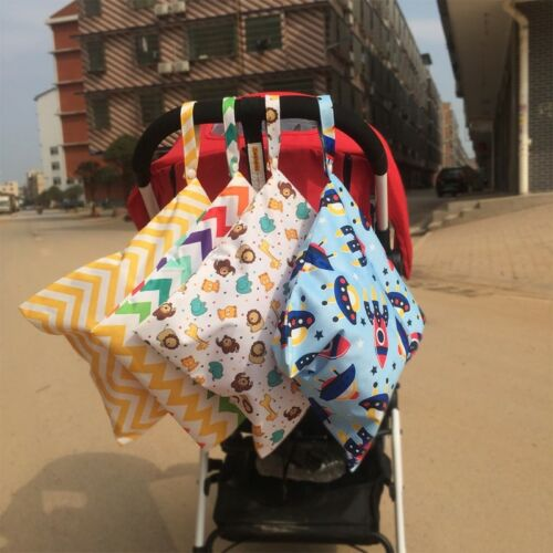 Changing Bag Nappy Baby Diaper Washable Waterproof Organizer Pram Storage Lovely 3
