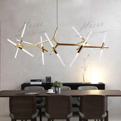 Modern branch chandelier metal pendant light industrial acrylic 8 of 12 modern branch chandelier metal pendant light industrial acrylic ceiling lighting aloadofball Images