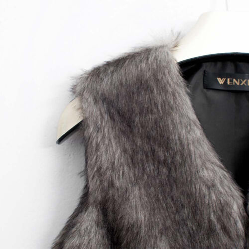 Winter Warm Sleeveless Coat Vest Waistcoat Gilet Jacket Outwear Women's Ladies