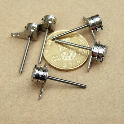 Nidec 2-phase 4-wire Mini 6mm Stepper Motor 17mm Long Shaft Linear Lead Screw 11