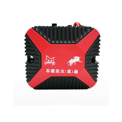 High-Tech 12V Dual Ultrasonic Engine Wire Protection Mouse Chaser Rats Repeller 2