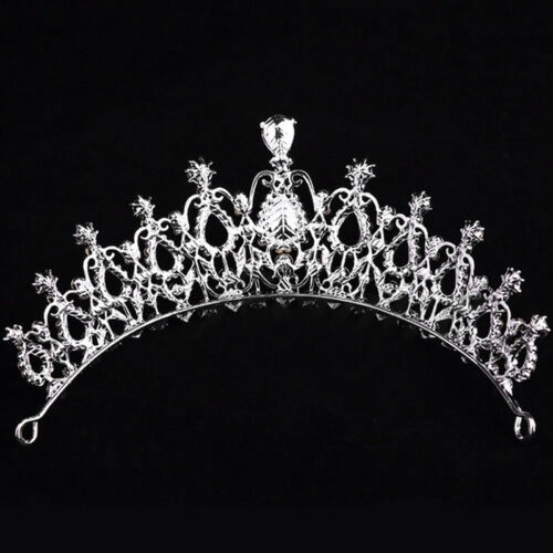 Wedding Bridal Crystal Rhinestone Hair Headband Crown Comb Prom Pageant