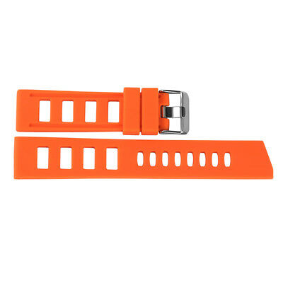 20/22mm Silicone Rubber Watch Band Strap Replacement Bracelet Spring Bars 10