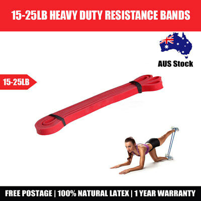 Strength Band Power Resistance Rubber Band Chin Up Pull Up Training Exercise Gym 8