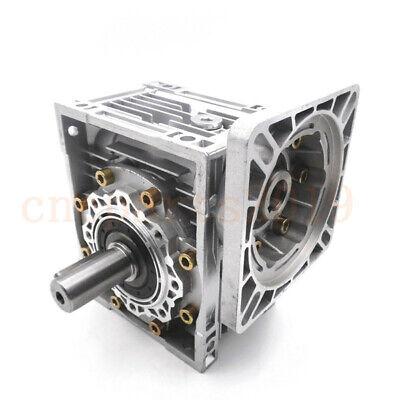 Gearbox Worm Gear Reducer NEMA34 Stepper Motor Ratio 10 20 25 40 50 60 80 100:1 4