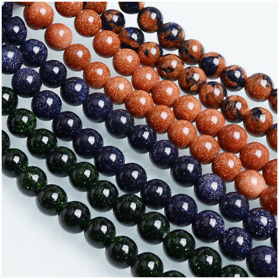 Wholesale Natural Gemstone Round Spacer Loose Beads For Bracelets Jewelry Making 10