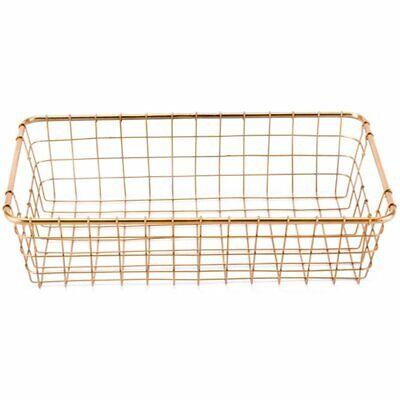 Zuo 3 Piece Basket Set in Gold 7