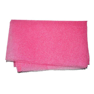 Beauty Skin Cloth Exfoliating Nylon Shower Bath Body Towel Wash Scrub Gadget HS3