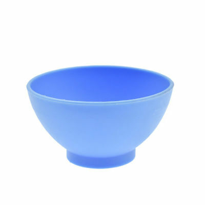Dental Lab Mixing Bowl Blue Nonstick Flexible Silicone Rubber Impression Cup 10