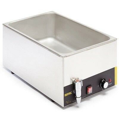 Buffalo L310 1/1 Wet Heat Bain Marie with Tap without Pan Free Next Day Delivery 2