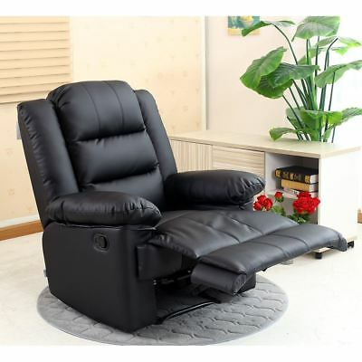 Stupendous Loxley Leather Recliner Armchair Sofa Home Lounge Chair Spiritservingveterans Wood Chair Design Ideas Spiritservingveteransorg