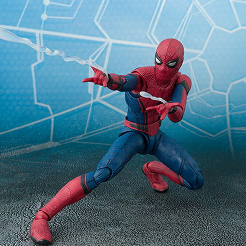16cm Spider-Man Superheld Action Figur Avengers Spiderman Figurine Spielzeug Toy 9