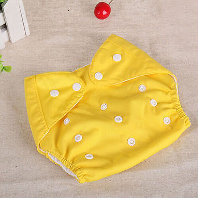Adjustable Reusable Lot Baby Kids Boy Girls Washable Cloth Diaper Nappies One 5