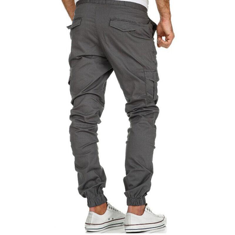 37a5b1abd62fb1 Uomo Cargo Pantaloni Militari Slim Jogger Abbigliamento Lunghi da Jogging 9  9 di 10 Vedi Altro