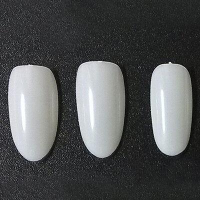 French Nails Artificial Fake Nails DIY Nail Tips Manicure Nail Art Salon 6
