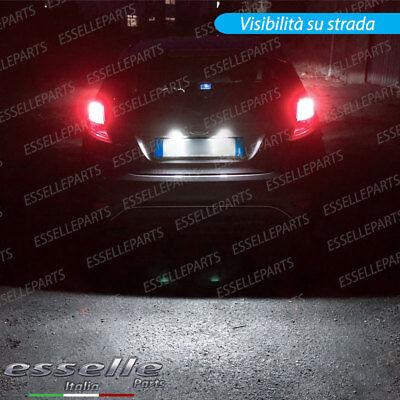 Coppia Placchette Led Targa 18 Led Ford Fiesta Mk6 Vi Canbus Ultraluminosi 8