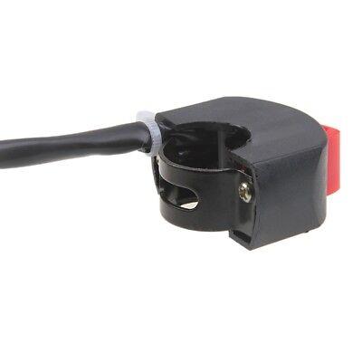 Interruptor para manillar de moto quad luces faros antiniebla posición 12V 22mm