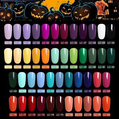 51 Couleur Multiple UV Gel Nail Art Semi Permanent Vernis à ongles LILYCUTE 5ML 4