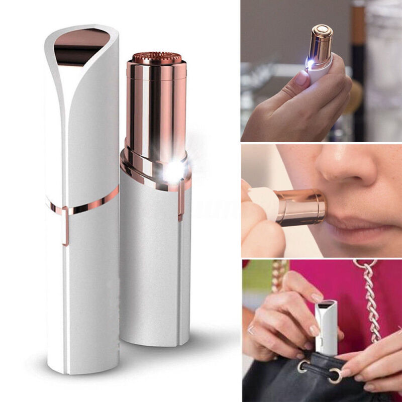 Finishing Touch Flawless Painless Face Facial Epilator Hair Remover Makeup