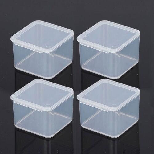 Kunststoff Aufbewahrungs Boxen Mit Deckel Transparent Schmuck
