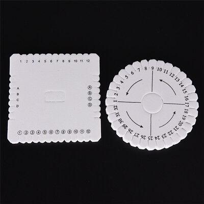 Round Square Handmade Beading Cord Disk Braiding Plate DIY Braided Braided RopSE