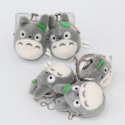 Studio Ghibli My Neighbor Totoro Left Plush Doll Toy Mini Holder Coin Bag Gift 6