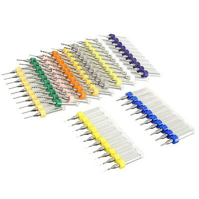 10x Set Tungsten Steel Carbide PCB CNC Micro Drill Bits Milling--Various Size✧✧