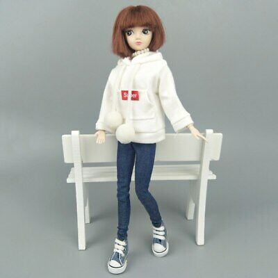 Fashion Doll Clothes Sweatshirt Coat For 11.5in. Doll Outfits Pants Shoes 1/6 3