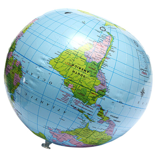 Inflatable world globe earth map teaching geography map beach ball 4 of 10 inflatable world globe earth map teaching geography map beach ball for uk gumiabroncs Image collections