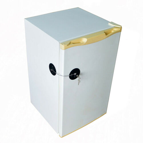 Toddler Baby Kid Refrigerator Cupboard Cabinet Door Fridge Safety Mini Lock shan 3