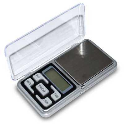 Balanza de Precision 0.1 gr 500 gr Bascula Digital Bolsillo Peso para Joyeria 2