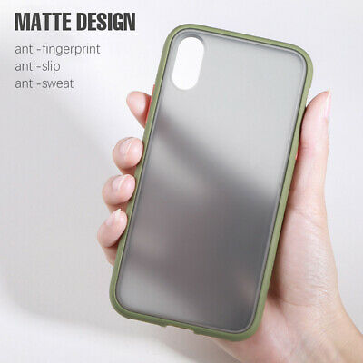 Matte Translucent Case For iPhone 11 Pro Max XS Max XR 7 8 6 Plus Silicone Cover 2