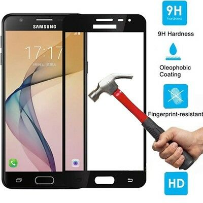 For Samsung Galaxy J3 J5 J7 2016/2017 Full Cover Tempered Glass Screen Protector 7