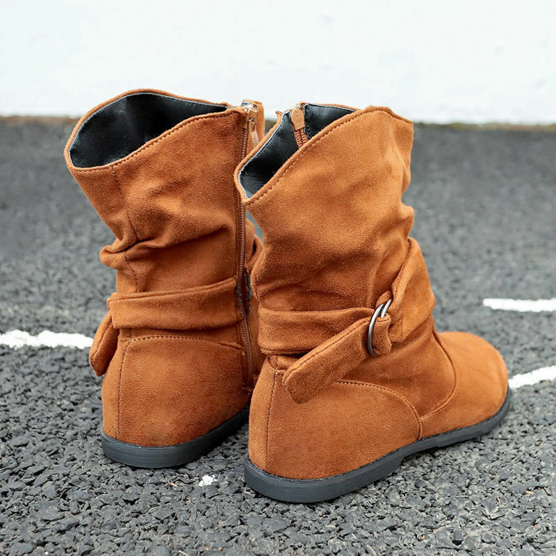 DAMEN BLOCKABSATZ STIEFEL Stiefeletten Halbschuhe Loafers
