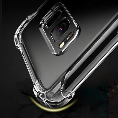 Shockproof clear Silicone For Samsung Galaxy A10 A30 A50 A70 Note 10 Plus Case 4