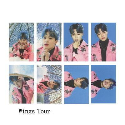 KPOP Bangtan Boys Love Yourself Tear WINGS Wings Tour Self Made Photo Card 11