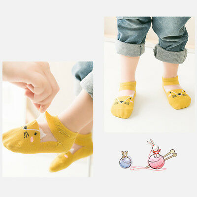 5 Pairs Baby Boy Girl Cartoon Cotton Ankles Socks Newborn Infant Toddler Soft 5