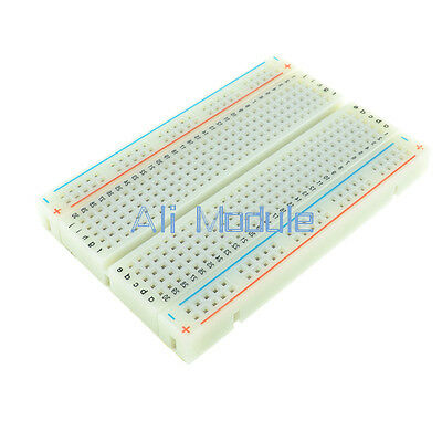 5 PCS Mini Universal Solderless Breadboard 400 Contacts Tie-points Available AM 2
