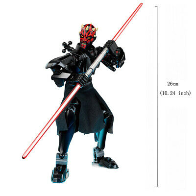 Star Wars Buildable Action Figure Darth Vader Stormtrooper Chewbacca Toy For Kid 7