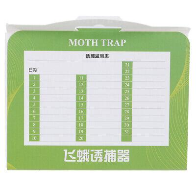 5pcs/pack Pantry Kitchen Food Moth Pheromone Attractant Moth Killer Moth Trap 9