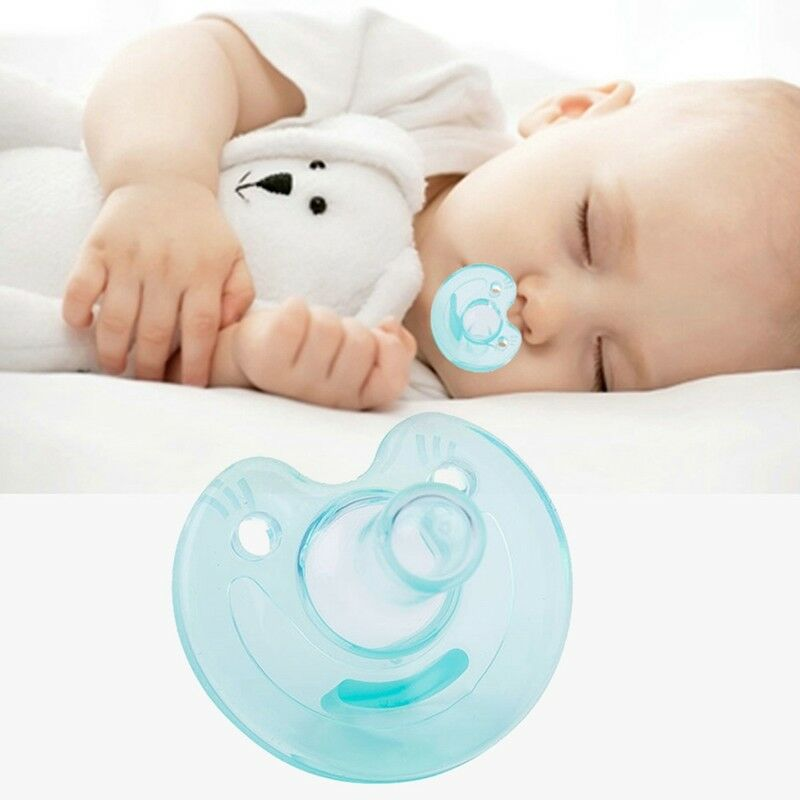 Newborn Kids Baby Orthodontic Dummy Pacifier Silicone Teat Nipple Soother Wv