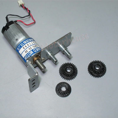 THINK DC 9V12V 24V 350RPM mini 20mm Metal Gearbox Gear motor Reduction Robot Car 4