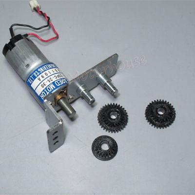 THINK DC12V-24V 350RPM mini 20mm Full Metal Gearbox Gear motor Reducer DIY Robot 4