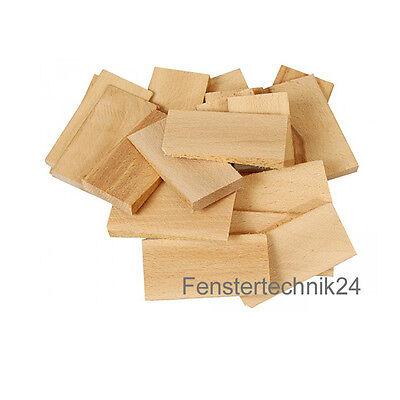 Maße gemischt in Box 100 Inovatec Holz Keile Hartholzkeile Buche natur versch
