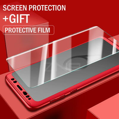 Luxury 360 Degree Full Cover Phone Shockproof Case For Samsung Galaxy S9 S10Plus 4