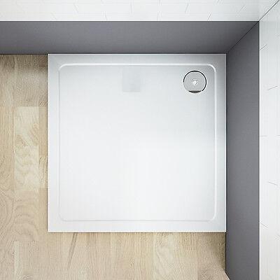 90x90x3cm Duschtasse Duschwanne Kunststein mit Acrylbeschichtung Brausewanne