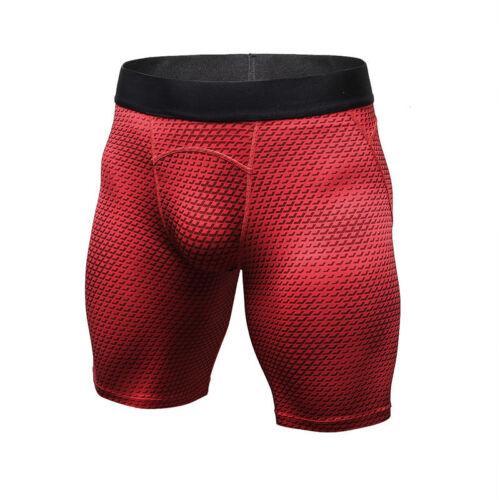 36c37477dd9 Men Sports Skin Tights Compression Base Under Layer Running Gym Shorts Pants  AU 11 11 of 12 ...
